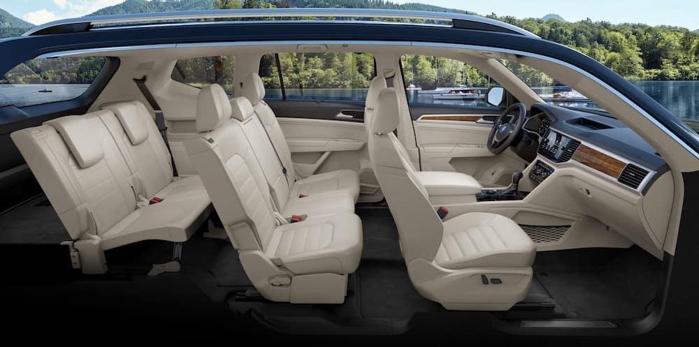 2019 VW Atlas Interior Space