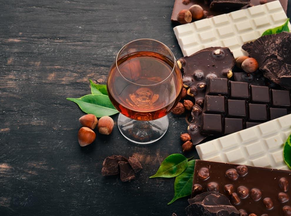 Wine and Chocolate Bar