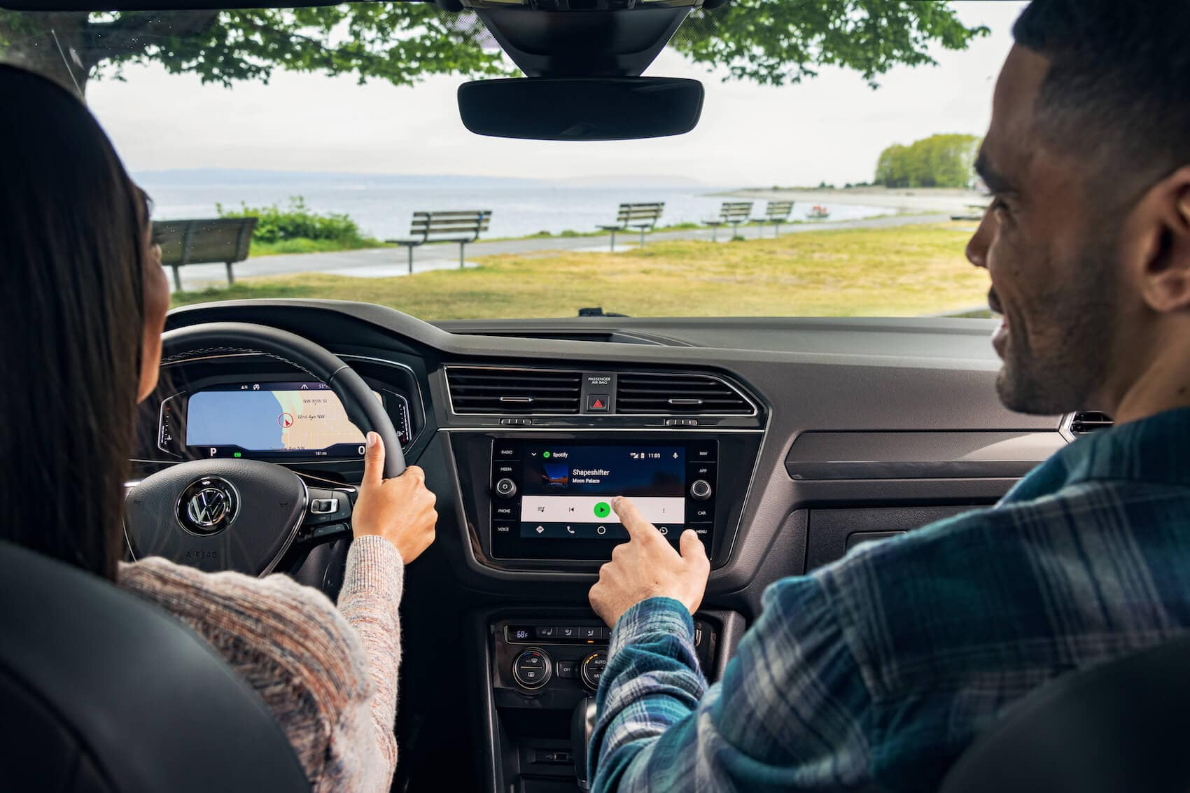 2020 Volkswagen Tiguan interior comparison Littleton, CO
