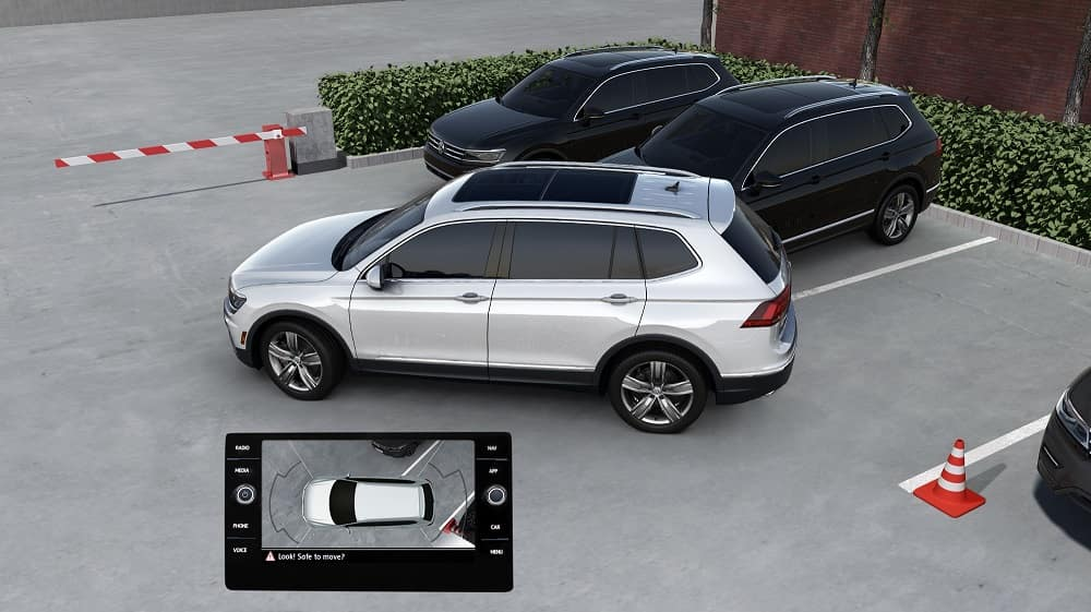 VW Tiguan Safety Technology