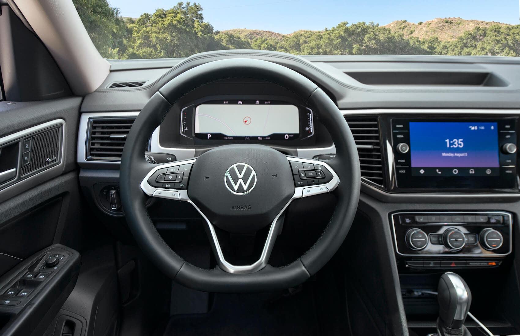 2021 Volkswagen Atlas vs 2021 Subaru Ascent