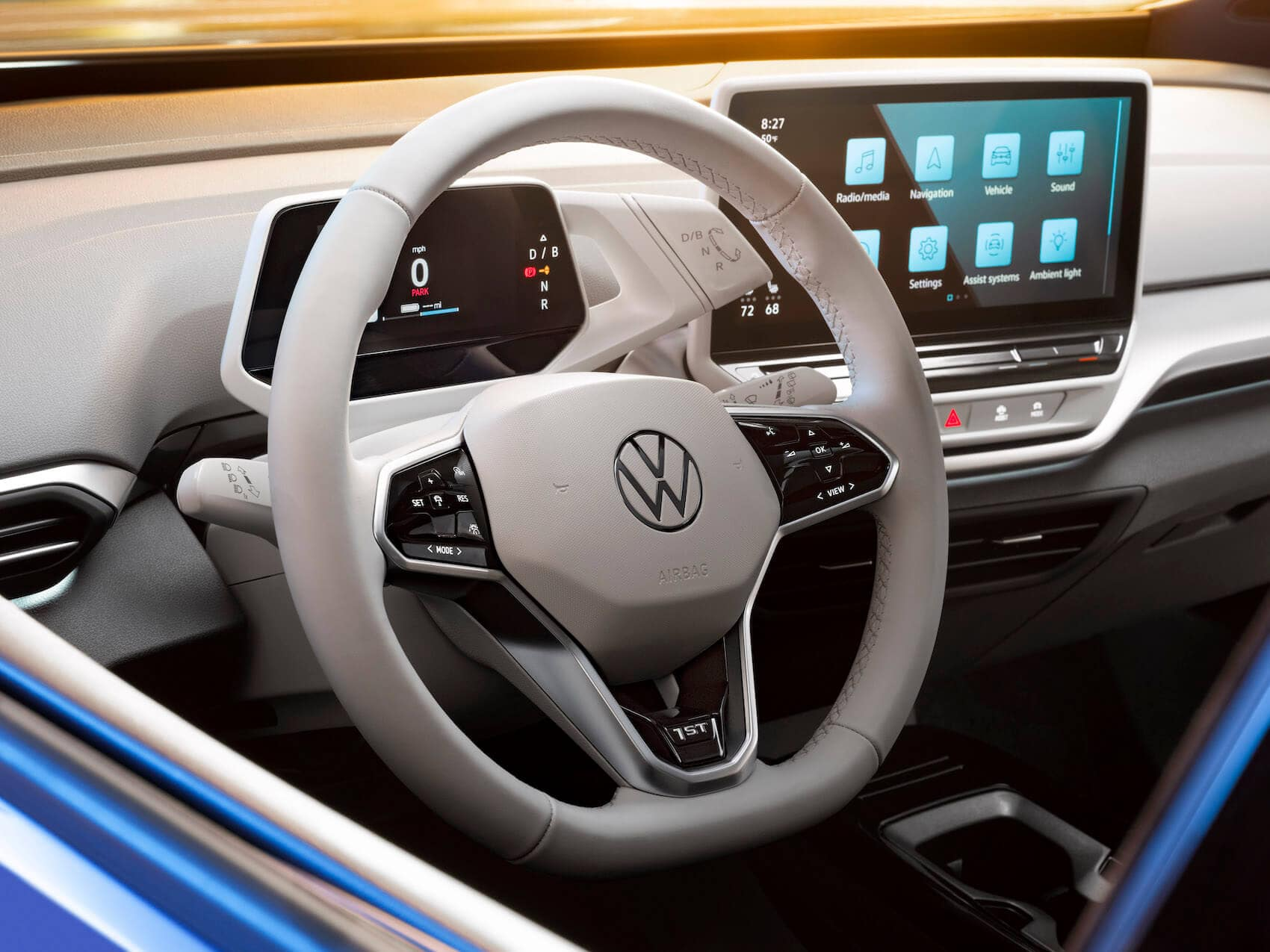 2021 Volkswagen ID.4 EV Interior Dimensions | McDonald VW