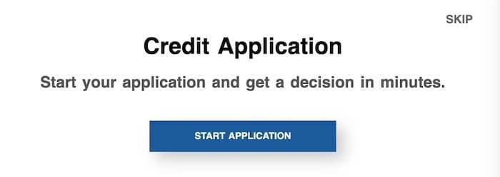 credit application image