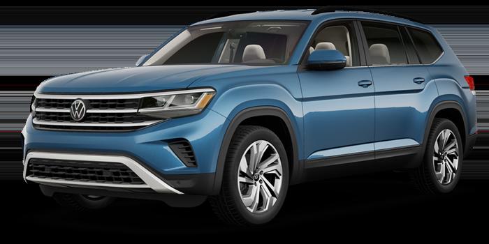 2021.5 Volkswagen Atlas 2.0T SE w/Technology AWD 4Motion