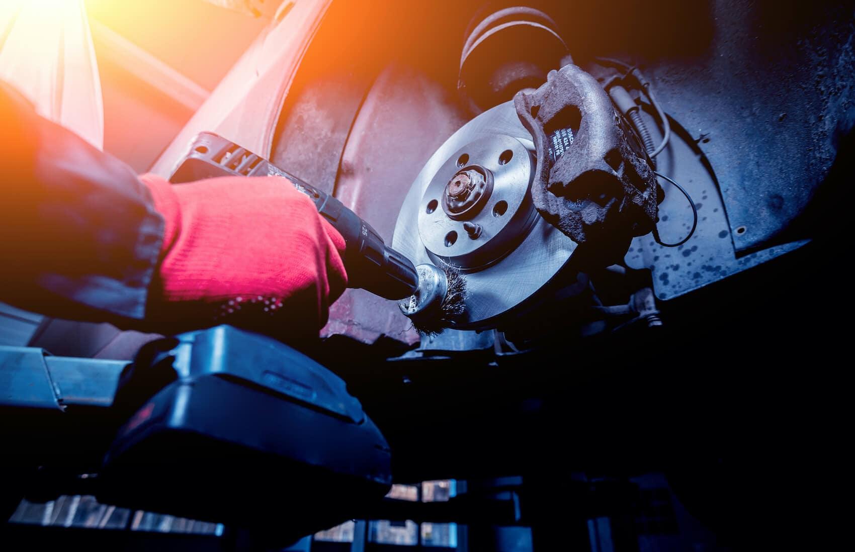 Replacing Brake Fluid