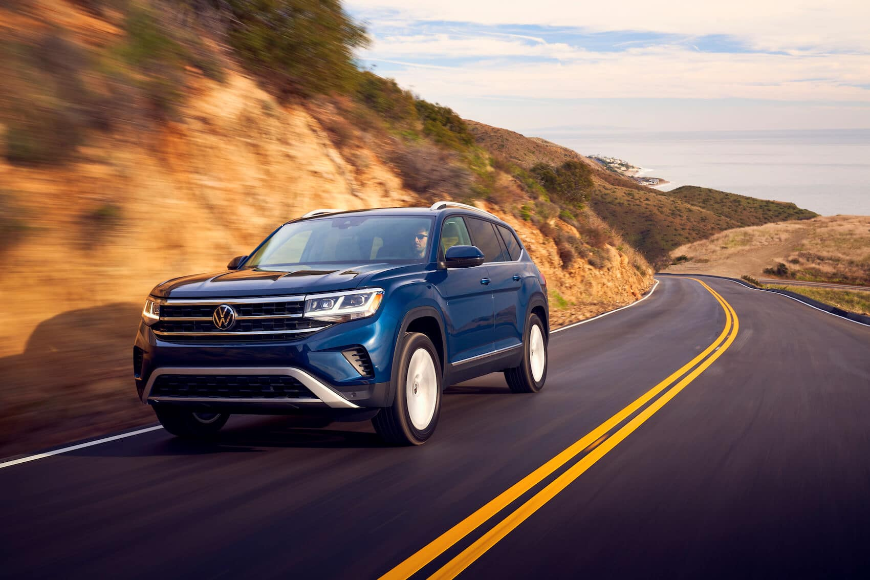 VW Atlas Highway Driving Safety