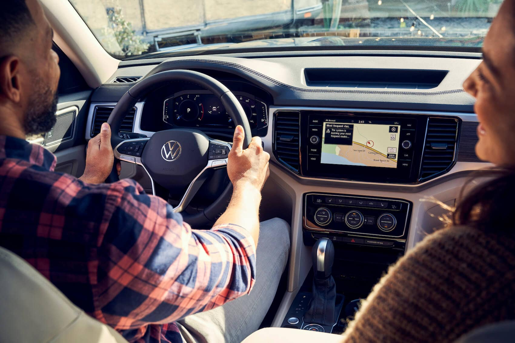 VW Atlas Driving Tech IIHS Safety Rating
