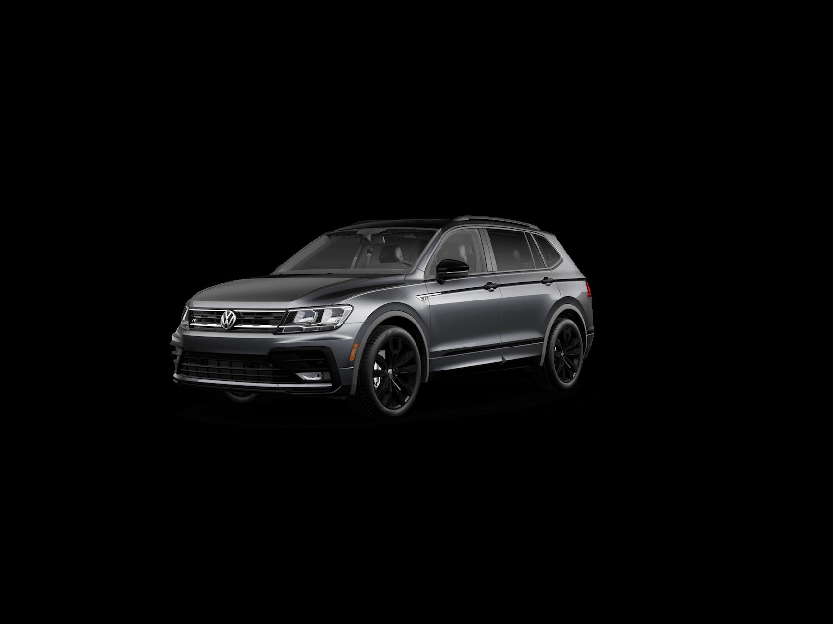 VW Tiguan R-Line Titan Black