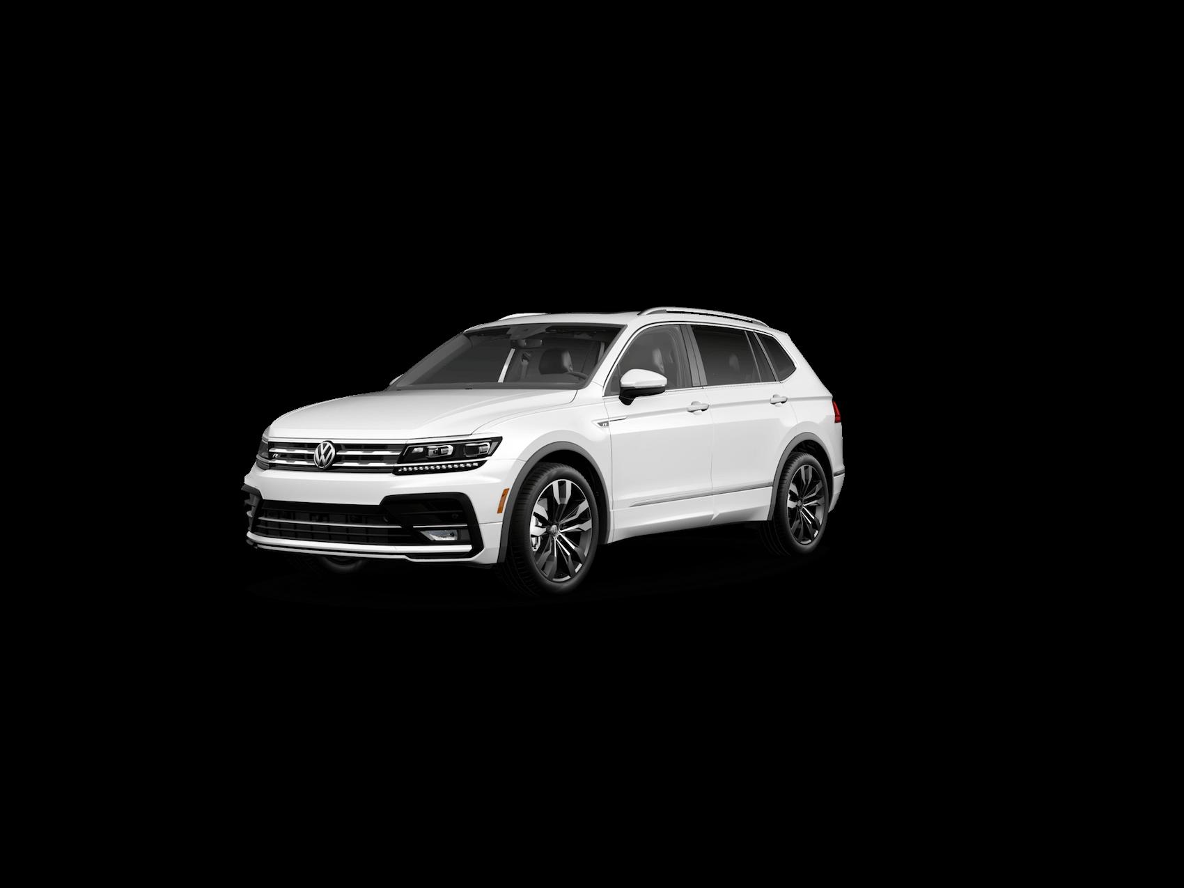 VW Tiguan Pure White