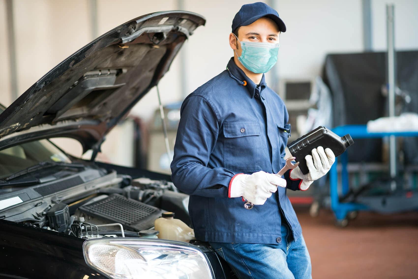 Volkswagen Service Center Mechanic