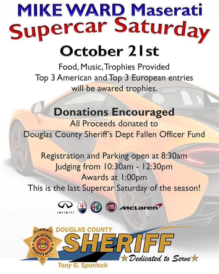 October 2017 Supercar Saturday