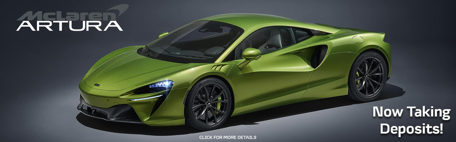 2022 McLaren Artura - Now Taking Deposits!