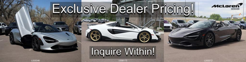 Exclusive Dealer Pricing
