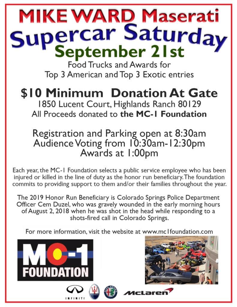 Supercar Saturdays at Mike Ward McLaren Denver | McLaren Denver
