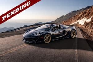 McLaren 600LT Pikes Peak Edition