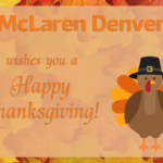 Happy Thanksgiving from McLaren Denver