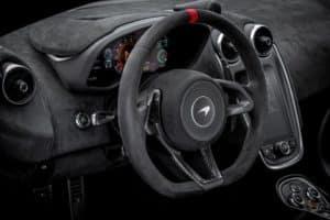 2021 McLaren 620R interior