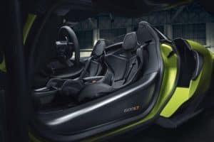 2021 McLaren 600LT interior