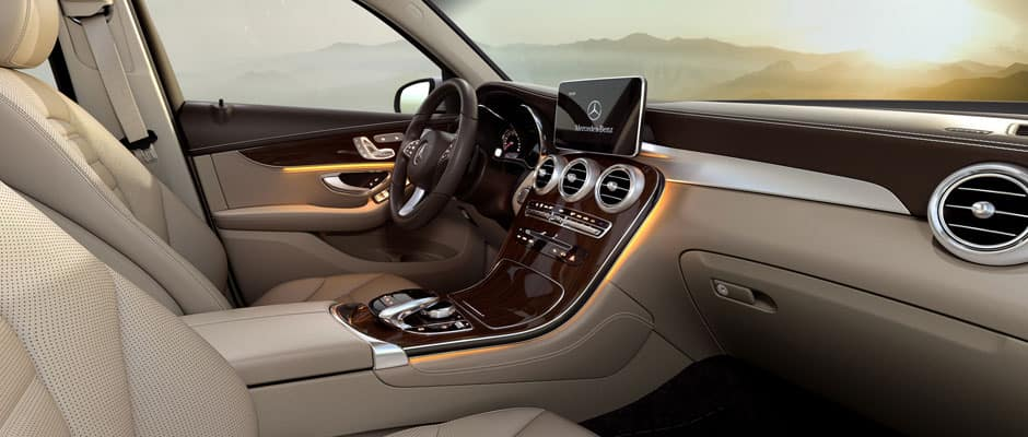 2018 Mercedes-Benz GLC Interior