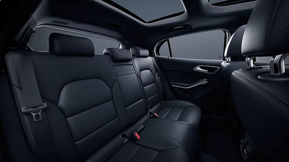 2019 Mercedes-Benz GLA interior seating