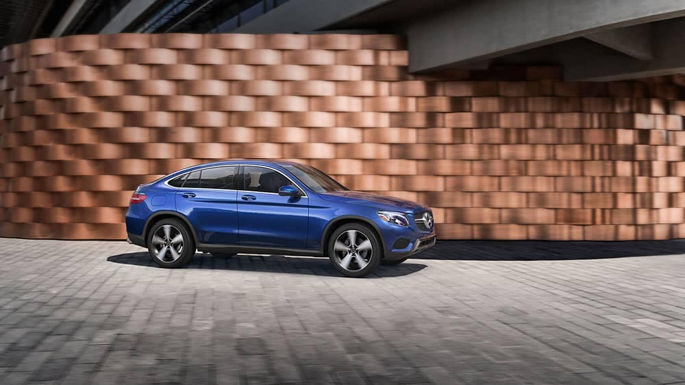 2019 Mercedes-Benz GLC in blue