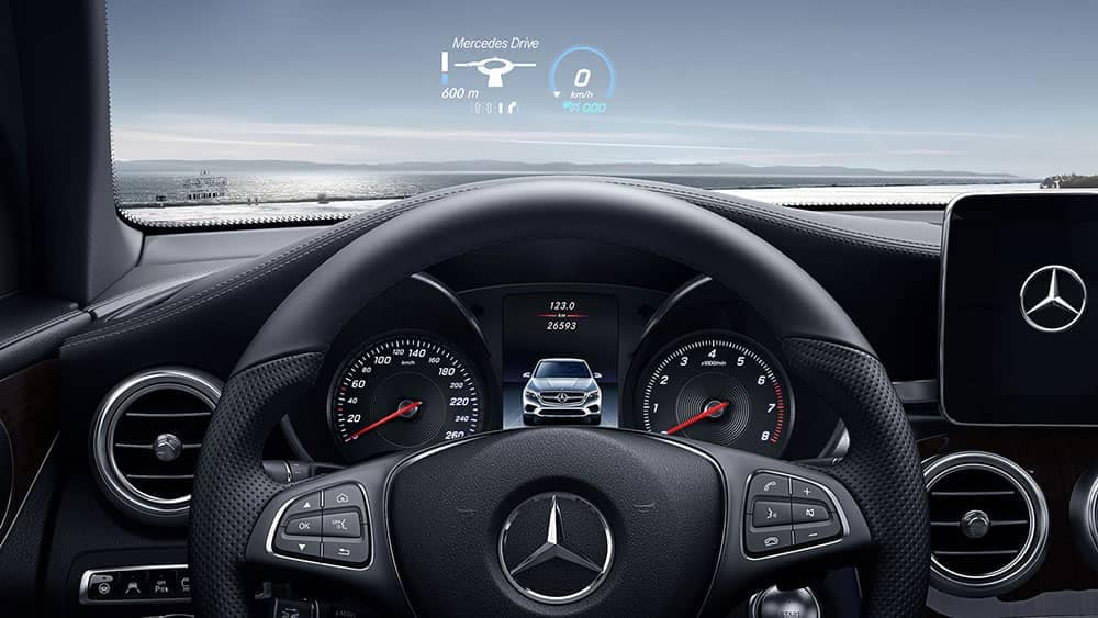 2019 Mercedes-Benz GLC steering wheel