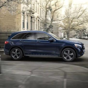 2019 Mercedes-Benz GLC profile view