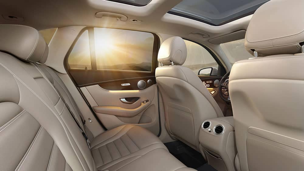 2019 Mercedes-Benz GLC seats