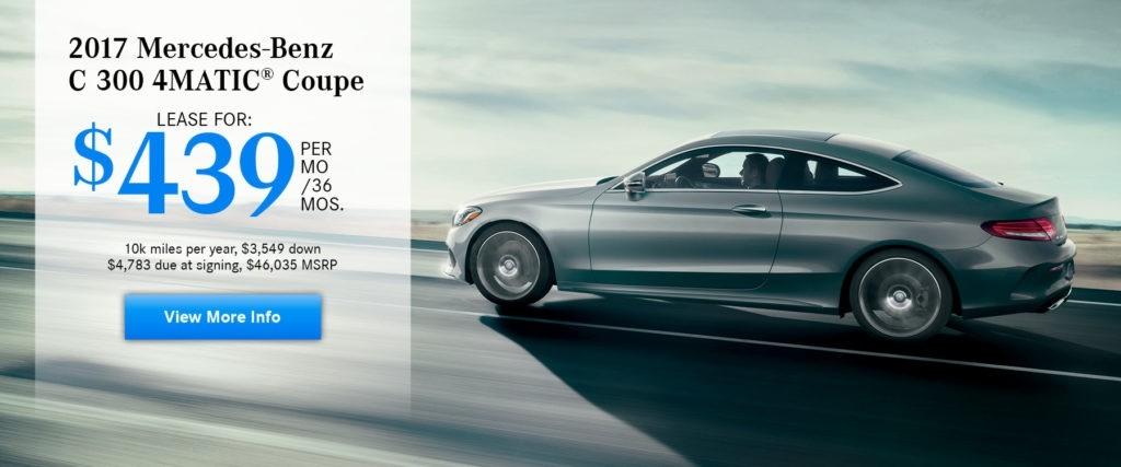 2017 Mercedes-Benz C 300 4MATIC Coupe
