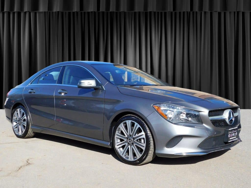Pre-Owned 2018 Mercedes-Benz CLA 250 AWD 4MATIC®