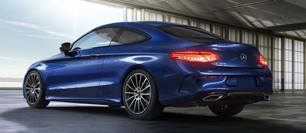 New 2019 Mercedes-Benz C 300 AWD 4MATIC Coupe®