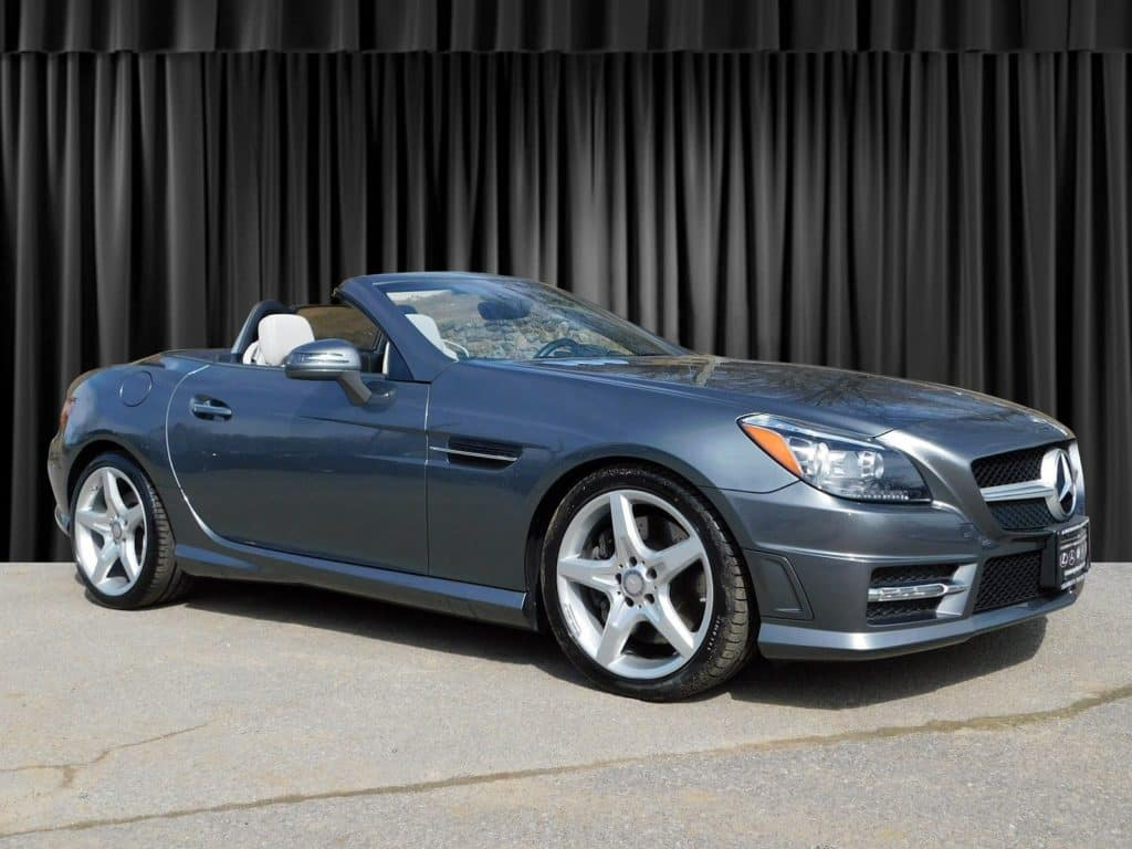 Certified Pre-Owned 2016 Mercedes-Benz SLK 300 Sport Rear Wheel Drive ROADSTER