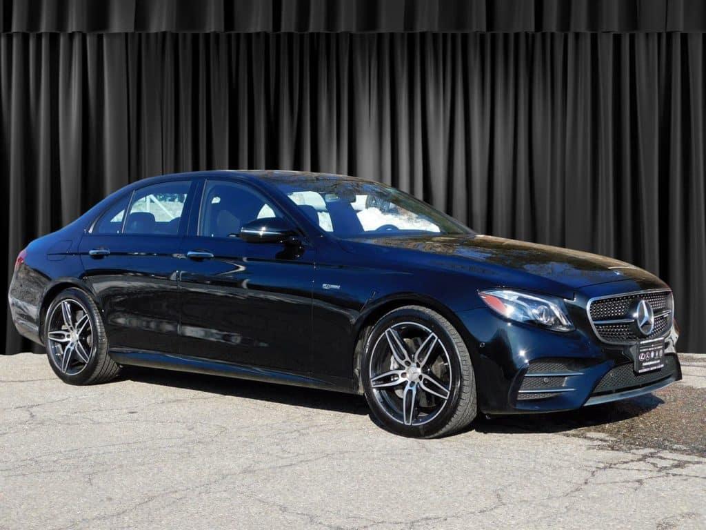Pre-Owned 2018 Mercedes-Benz E-Class AMG® E 43 Sedan AWD 4MATIC®