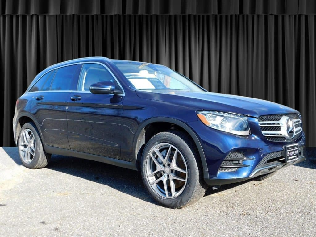 Certified Pre-Owned 2016 Mercedes-Benz GLC 300 Sport AWD 4MATIC®