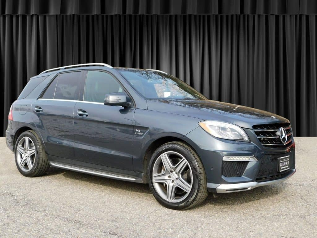 Pre-Owned 2012 Mercedes-Benz M-Class ML 63 AWD 4MATIC®