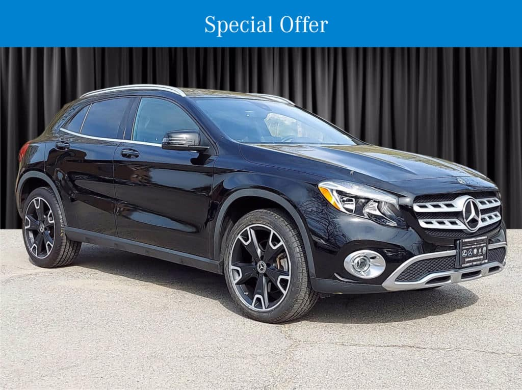 Certified Pre-Owned 2018 Mercedes-Benz GLA 250 AWD 4MATIC®