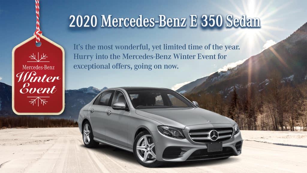 2020 Mercedes-Benz E 350 Sedan