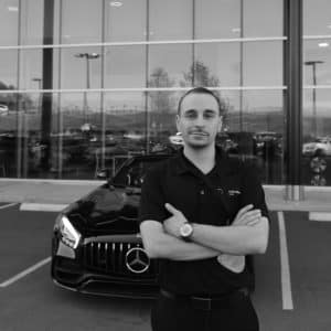 Ryan Demitrescu and Mercedes-Benz of Music City