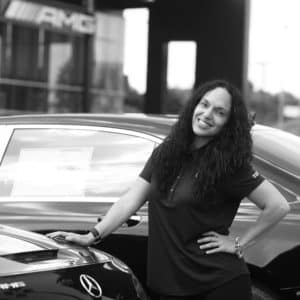 Erica Ali at Mercedes-Benz of Music City