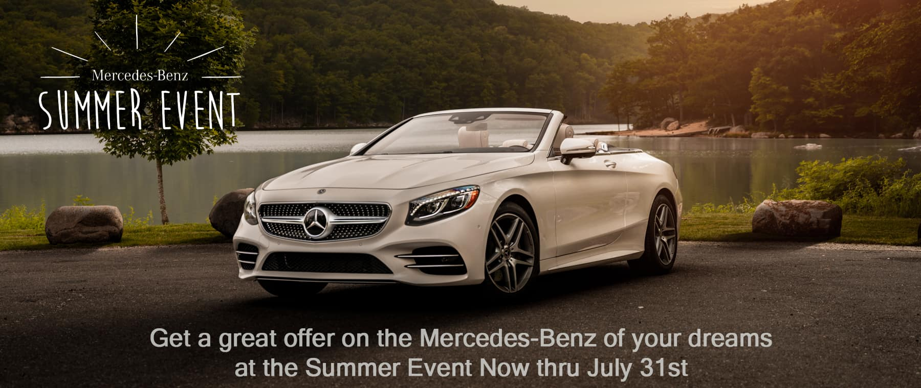 summer event home page mercedes-benz dream