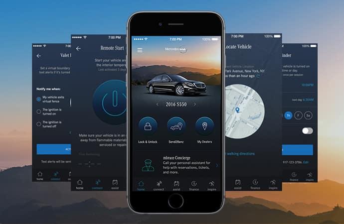 Mercedes-Benz App - MBrace