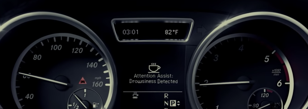 Mercedes-Benz Active Assists - Attention Assist