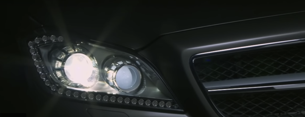 Mercedes-Benz Digital Light LED Headlights