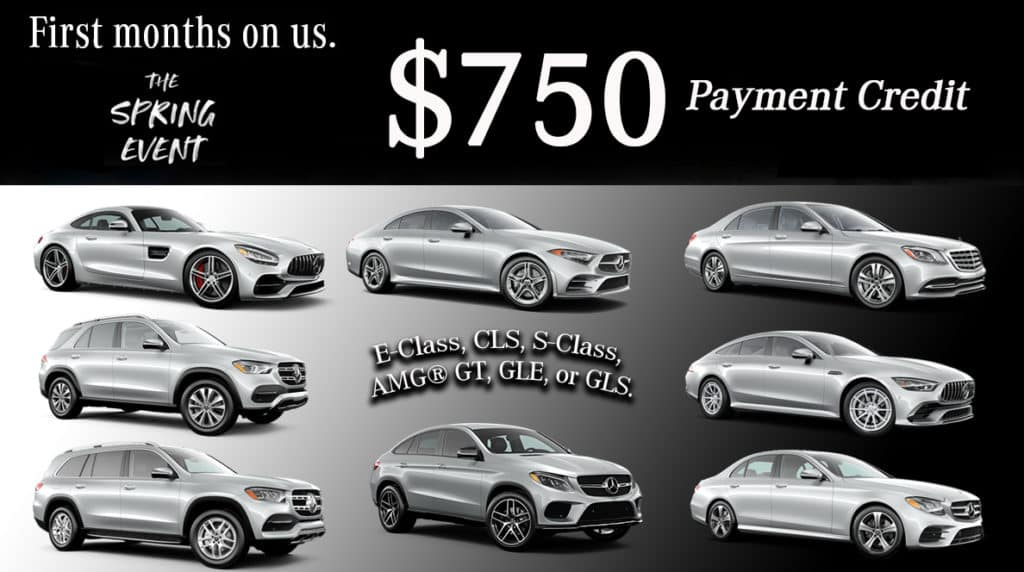 Let us take care of your first payment.