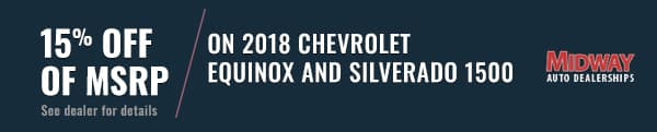 Chevy Silverado and Equinox Banner