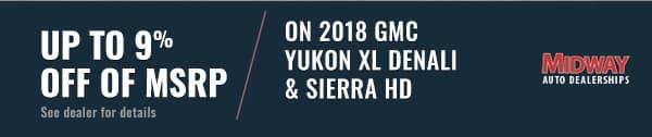 GMC Yukon XL Denali Banner