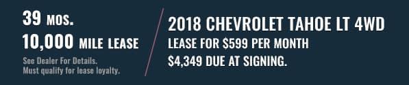 Chevrolet Tahoe Banner