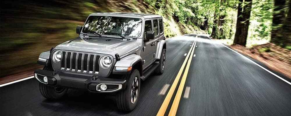 2019 Jeep Wrangler forest drive