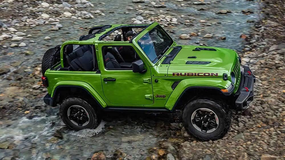 2019 Jeep Wrangler river crossing