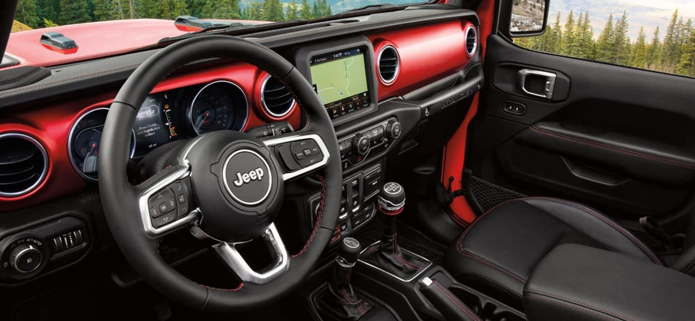 2020 Jeep Wrangler interior